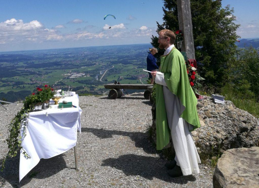 Bergmesse Kreuz
