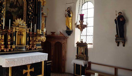 Erstkommunion oder Rauhenzell von Innen oder Gottesdienstablauf