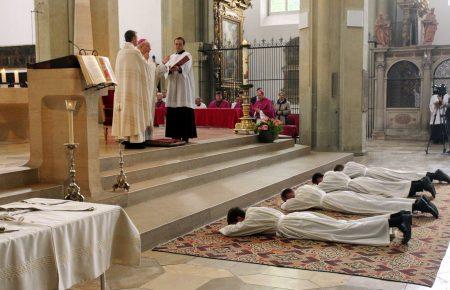 Diakonweihe in St. Ulrich und Afra , Augsburg